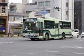 Hino Bus In Kyoto