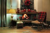 Comfortable Christmas Interior
