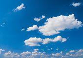 Summer Heavens Shining Day