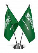 Saudi Arabia  - Miniature Flags.
