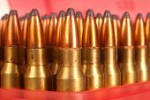 150 gn bullets reloaded into cases for greater accuracy and reduced cost per shot