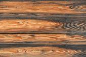 Closed up of dark texture of black wood