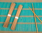 Soba And Chopsticks