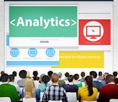 Analytics Data Analysis Statistics Seminar Conference Learning Concept