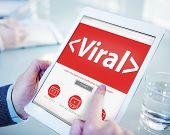 Viral Virus Internet Online Risk Concepts
