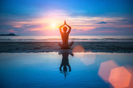 picture of breathing exercise  - Yoga - JPG