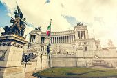 stock photo of altar  - The Altare della Patria  - JPG
