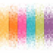 stock photo of pixel  - Abstract pixel background - JPG