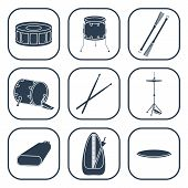 picture of drums  - Drum icons - JPG