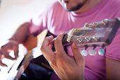 stock photo of guitarists  - Guitarist - JPG