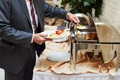 picture of catering  - restaurant catering service - JPG