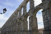 stock photo of aqueduct  - Medieval - JPG