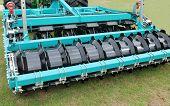 picture of cultivator-harrow  - A Modern Agricultural Disc Harrow Farming Trailer - JPG