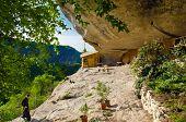 stock photo of gethsemane  - The Cave monastery  Chelter - JPG