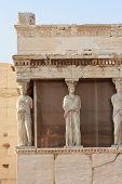 Erechtheion Temple Closeup, Acropolis, Athens, Greece