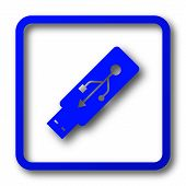 Usb Flash Drive Icon poster