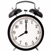 Alarm Clock, showing eight o'clock