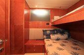 Double bunk on yacht