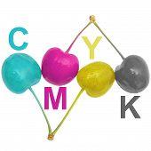 CMYK-Kirschen
