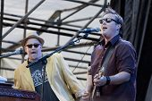 CLARK, NJ - SEPT 18:  Members of the band Southside Johnny & The Asbury Jukes perform at the Union C