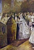Wedding - llustration by M. Shcheglov,