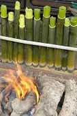 stock photo of fitri  - Lemang - JPG
