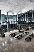 Airport Terminal In Valencia