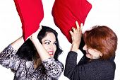 image of pillow-fight  - Fun  - JPG