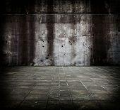 Composto de concreto grande.