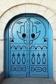 Oriental entrance door