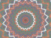 Clay Kaleidascope Background