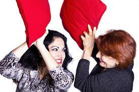 image of pillow-fight  - Fun  - JPG