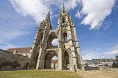 Abbey Of St-jean-des Vignes In Soissons
