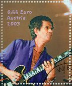Stamp Keith Richards