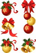 foto of christmas ornament  - vector illustrations  - JPG