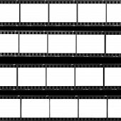 Contact Sheet Blank Film Frames