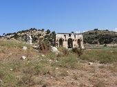 Triumphal Arch to the ancient city of Patara.