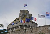Flags over Saint Malo