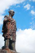 Statue of Shodo Shonin, Nikko, Japan
