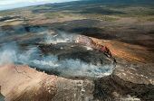 Volcano on the big island of Hawaii