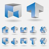 Set Of Logo Elements