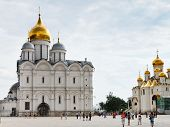 Cathedral Square Of Moscow Kremlin