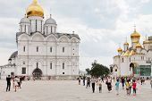 Sobornaya Square de Moscow Kremlin