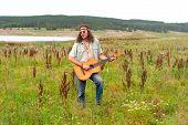 Hippie Musiciant