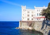 Miramare Castle In Trieste