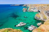 Carnewas Cliffs Cornwall England