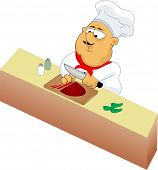 Fat Chef Cooking