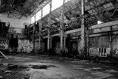 Abandoned Detroit Warehouse