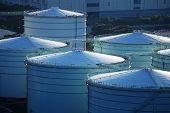 Oil tank in cargo terminal service centre