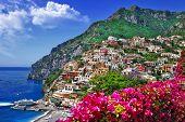 colors of sunny Italy series -Positano